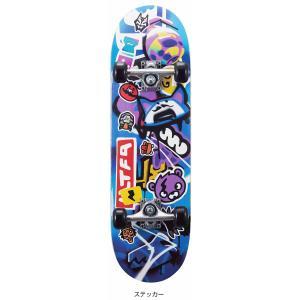 フォートナイトスケートボード ステッカー FN20SB-SK ホイール エクストリーム スケートボード ジュニア BLU 28inch|スポーツオーソリティ PayPayモール店
