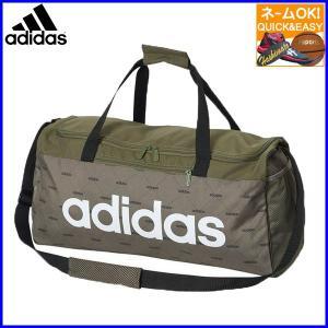 ☆ 名入れ 刺繍 OK アディダス ボストンバッグ スポーツバッグ ダッフルバッグ リニアチームバッグ M G GDI91|sportsbeans
