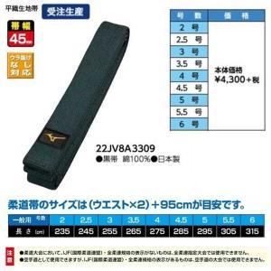 サイズ 2、2.5、3、3.5、4、4.5、5、5.5、6号  帯幅 45mm  素材 黒帯 綿10...