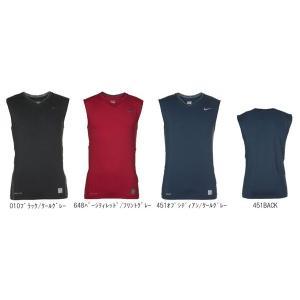 プロコアDRI-FITVネックスリーブレストップ ナイキ  メンズサイズ コンプレッションシャツ 現品限り sportsguide