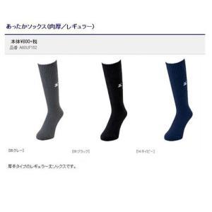 あったかソックス(肉厚/レギュラー丈) 25〜27cm ミズノ A60UF152 現品限り sportsguide