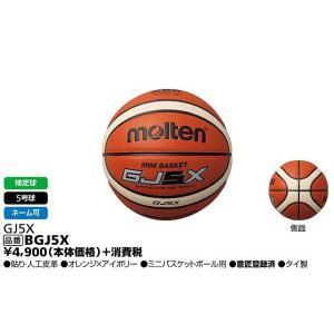 ミニバスケットボール用 GJ5X 検定球5号球 モルテン