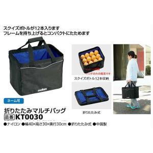 折りたたみマルチバッグ モルテン スクイズボトルが12本入ります 大きさ40×30×30cm |sportsguide
