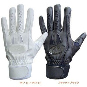 少年用バッティング手袋 片手用 ホワイト Rawlings ローリングス 水洗い可能 現品限り|sportsguide
