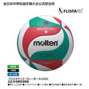フリスタテック4号試合球 検定球 モルテン V4M5000 中学校・家庭婦人用バレーボール|sportsguide