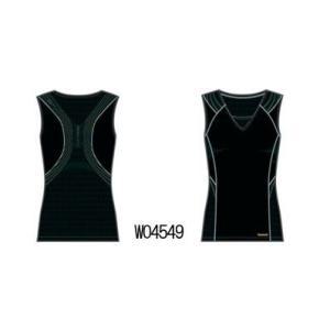 Womenスリーブレス イージートーン トップス ブラック Reebok AAWP1054 sportsguide