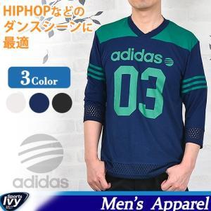 アディダス Tシャツ スニーカー ADIDAS HM ストリートミックス7分袖Tシャツ M BCN67 AH7170/AH7171/AH7172 SALE|sportsivy