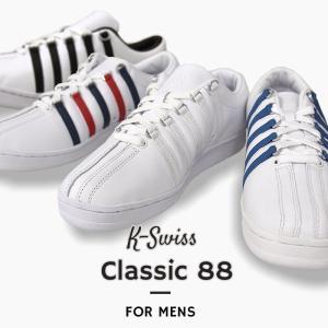 K-SWISS スニーカー カジュアル メンズ シューズ 靴 ストリート Classic 88 クラ...