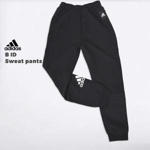 アディダス adidas ジャージ スポーツ ウェア ジュニア ロング パンツ ロゴ B ID スウ...