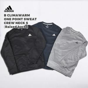 アディダス adidas ジュニア スウェット B CLIMAWARM ワンポイントスウェットクルー...