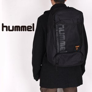 ヒュンメル hummel リュックサック ユニセックス 運動 バッグ バックパック スポーツ 拡張型・保冷保温バックパック 2 HFB6137 01 90 グレー ブラック|sportsivy