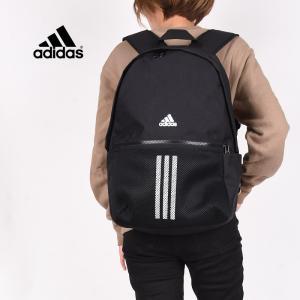アディダス adidas レディース メンズ リュック 運動 バッグ 通学 デイパック バックパック スポーツ CLASSIC 3ストライプス バックパック  FS8331  黒|sportsivy