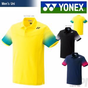YONEX ヨネックス 「UNI ポロシャツ フィットスタイル  10183」ウェア「SS」『即日出荷』|sportsjapan