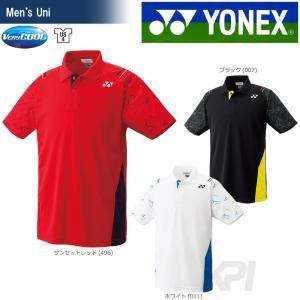 「チームウエアフェア」「2017新製品」YONEX ヨネックス 「Uni ユニ ポロシャツ 10221」ウェア「2017FW」|sportsjapan