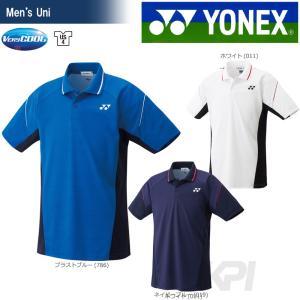 「2017新製品」YONEX ヨネックス 「Uni ユニ ポロシャツ 10222」ウェア「2017FW」|sportsjapan