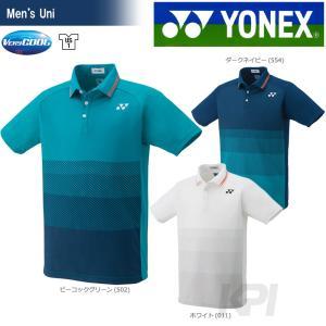 「2017新製品」YONEX ヨネックス 「Uni ユニ ポロシャツ フィットスタイル  10224」ウェア「2017FW」|sportsjapan