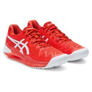 アシックス asics テニスシューズ レディース GEL-RESOLUTION 8 オールコート用 1042A072-601|sportsjapan