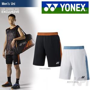 バドミントン ウェア メンズ  ヨネックス YONEX ハーフパンツ 15002LCW 2017FW 2017新製品|sportsjapan