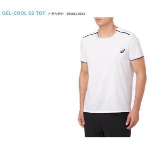 アシックス asics テニスウェア ユニセックス GEL-COOLショートスリーブトップ 154401-0014 「SS」 『即日出荷』|sportsjapan