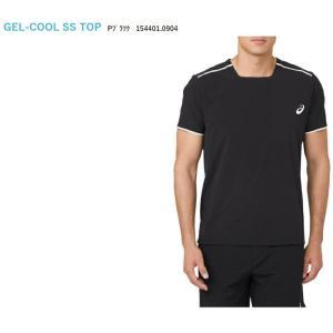 アシックス asics テニスウェア ユニセックス GEL-COOLショートスリーブトップ 154401-0904 「SS」 『即日出荷』|sportsjapan