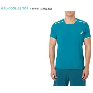 アシックス asics テニスウェア ユニセックス GEL-COOLショートスリーブトップ 154401-8095 「SS」 『即日出荷』|sportsjapan