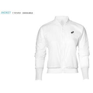 アシックス asics テニスウェア レディース W'Sジャケット 154416-0014 「SS」 『即日出荷』|sportsjapan