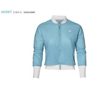 アシックス asics テニスウェア レディース W'Sジャケット 154416-8099 「SS」 『即日出荷』|sportsjapan
