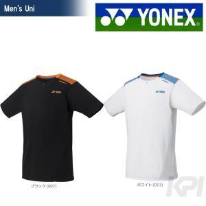 「2017新製品」YONEX ヨネックス 「Uni メンズ ドライTシャツ 16003LCW」バドミントンウェア『即日出荷』|sportsjapan