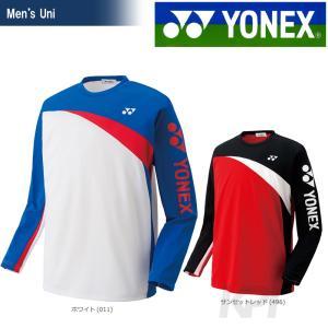 「2017新製品」YONEX ヨネックス 「Uni ユニ ロングスリーブTシャツ 16311」ウェア「2017FW」|sportsjapan