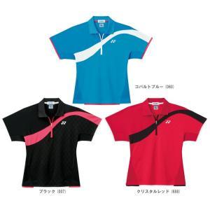 『即日出荷』 YONEX ヨネックス 「Ladies レディースシャツ スリムタイプ  20215」スポーツウェア「FW」 sportsjapan
