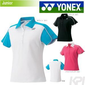 YONEX ヨネックス 「ジュニア ガールズ ポロシャツ」テニスウェア『即日出荷』|sportsjapan