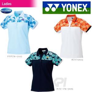 テニスウェア バドミントン ウェア レディース  ヨネックス YONEX ポロシャツ 20380 2017SS 2017新製品|sportsjapan