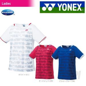 テニスウェア バドミントン ウェア レディース  ヨネックス YONEX シャツ レギュラータイプ 20384 2017SS 2017新製品|sportsjapan