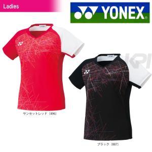 テニスウェア バドミントン ウェア レディース  ヨネックス YONEX フィットシャツ 20385  2017SS 2017新製品|sportsjapan