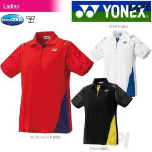 「チームウエアフェア」「2017新製品」YONEX ヨネックス 「WOMEN レディース ポロシャツ 20393」ウェア「2017FW」|sportsjapan
