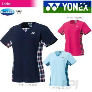 「チームウエアフェア」「2017新製品」YONEX ヨネックス 「WOMEN レディース シャツ  スリムタイプ  20396」ウェア「2017FW」|sportsjapan