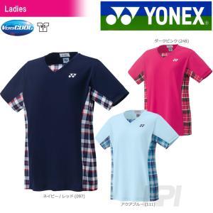 「チームウエアフェア」「2017新製品」YONEX ヨネックス 「WOMEN レディース シャツ 20397」ウェア「2017FW」|sportsjapan