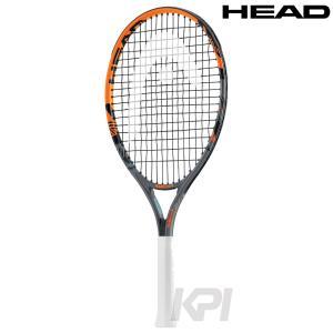 「2017モデル」「ガット張り上げ済み」HEAD(ヘッド)「RADICAL 21(ラジカル 21) 234336」ジュニアテニスラケットKPI+|sportsjapan