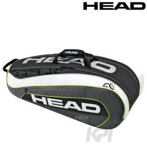 「2017モデル」HEAD(ヘッド)「DJOKOVIC 9R SUPERCOMBI(ジョコビッチ・9R・スーパーコンビ))9本入ラケットバッグ 283086」テニスバッグKPI+|sportsjapan