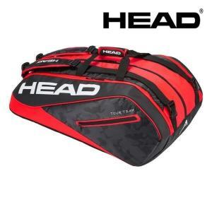 ヘッド HEAD テニスバッグ・ケース  Tour Team 12R Monstercombi 283108-BKRD|sportsjapan