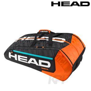 「2017モデル」HEAD(ヘッド)「RADICAL 12R MONSTERCOMBI(ラジカル・12R・モンスターコンビ)12本入ラケットバッグ 283186」テニスバッグKPI+|sportsjapan