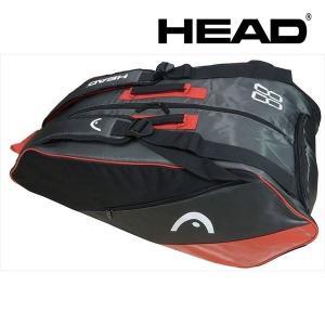 ヘッド HEAD テニスバッグ・ケース  ES Supercombi 9R 283687-BKRD|sportsjapan