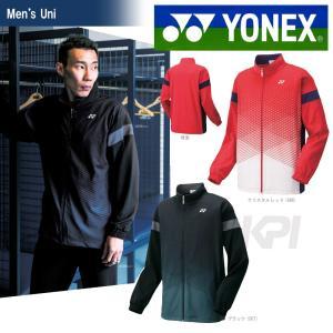 テニスウェア バドミントン ウェア ユニセックス  ヨネックス YONEX ニットウォームアップシャツ アスリートフィット 50055 SS|sportsjapan