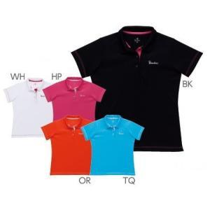 テニスウェア レディース パラディーゾ PARADISO レディースゲームシャツ 52CL2A KPI|sportsjapan
