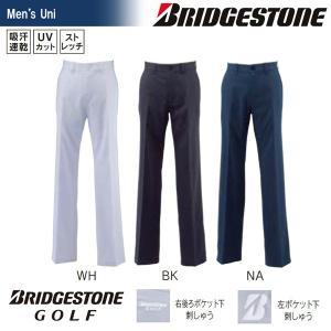 ブリヂストンゴルフ BRIDGESTONE ゴルフウェア メンズ ノータックパンツ 55G01K|sportsjapan