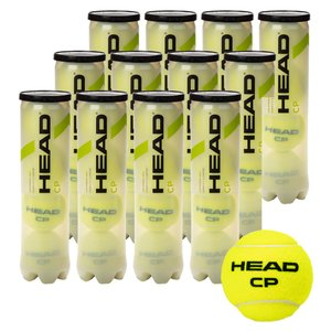 「365日出荷」HEAD ヘッド 「HEAD CP ヘッド・シーピー 4球入り1箱 12缶/48球  577094」テニスボール 『即日出荷』|sportsjapan