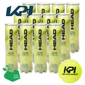 「365日出荷」「KPIオリジナルモデル」ヘッド HEAD テニスボール  HEAD CP KPI「KEEP ON PLAYING IT!」 4球入り1箱 12缶/48球  577294 サステナブル『即日出荷』|sportsjapan