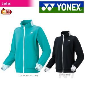 「2017新製品」YONEX ヨネックス 「Ladies レディース ニットウォームアップシャツ 58078」ウェア「2017FW」|sportsjapan