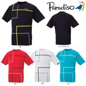 パラディーゾ PARADISO テニスウェア メンズ ゲームシャツ 58CM3A 2018SS|sportsjapan