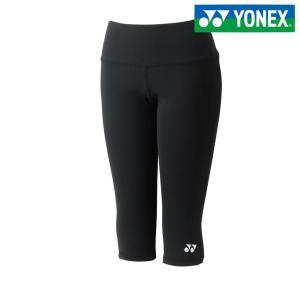 ヨネックス YONEX テニスウェア レディース 6分丈レギンス/両脇ポケット付 69007-007 2018SS|sportsjapan